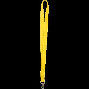 Yellow - Polyester lanyards