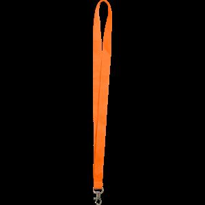 Orange - Polyester lanyards