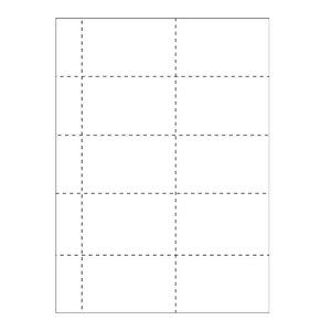Einsteckschilder 10 pro Bogen: 1060-K (Set à 25 oder 100 Bogen)