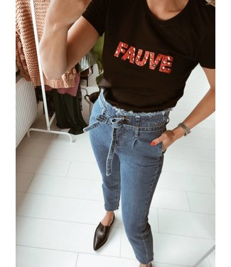 FAUVE WILD   BLACK