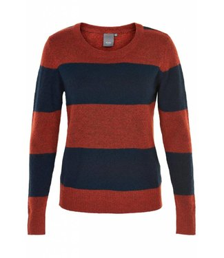 KNIT IN STRIPE NAVY
