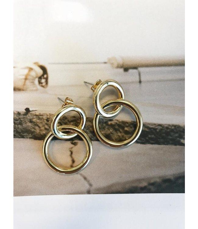 CELAINA EARRINGS GOLD