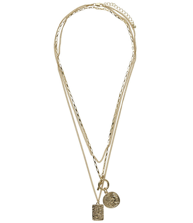 COMBI NECKLACE GOLD