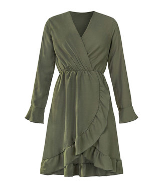 BELLA DRESS OLIVE
