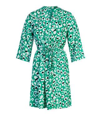 GREEN FLAKES DRESS