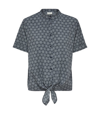 KNOT BLOUSE GRAPHIC