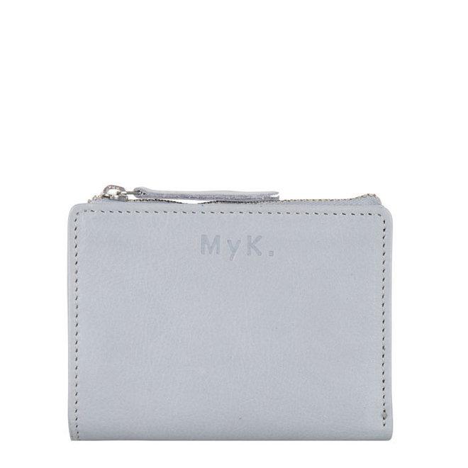 Geldbörse Poppy - Silber Grau