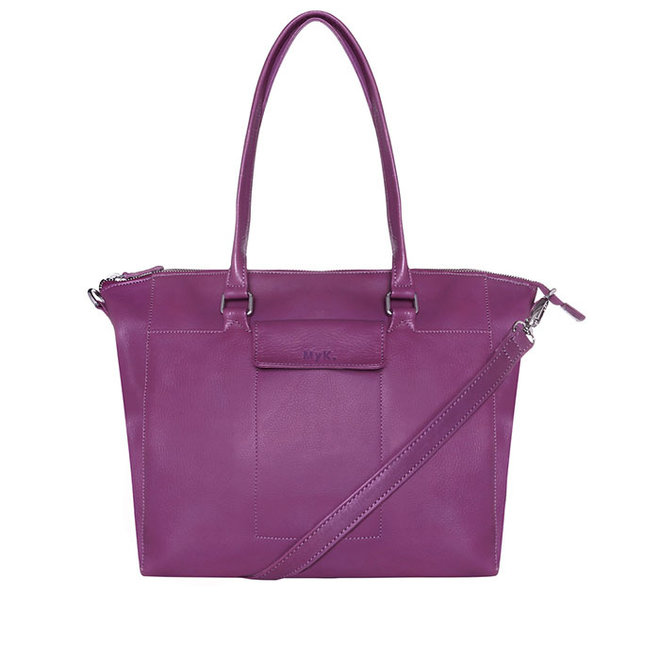 Tasche Carlyle - Pflaume