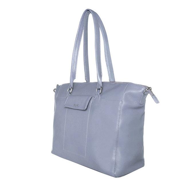 Tasche Carlyle - Silber Grau