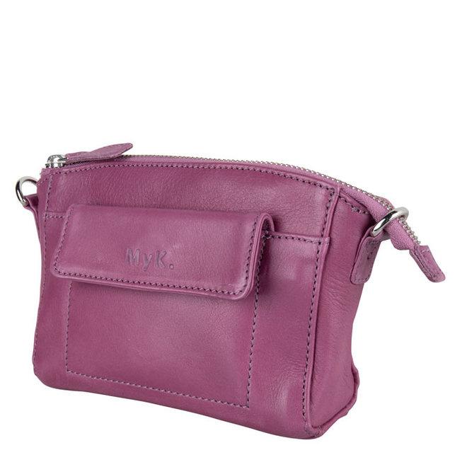 Tasche Carlton - Pflaume