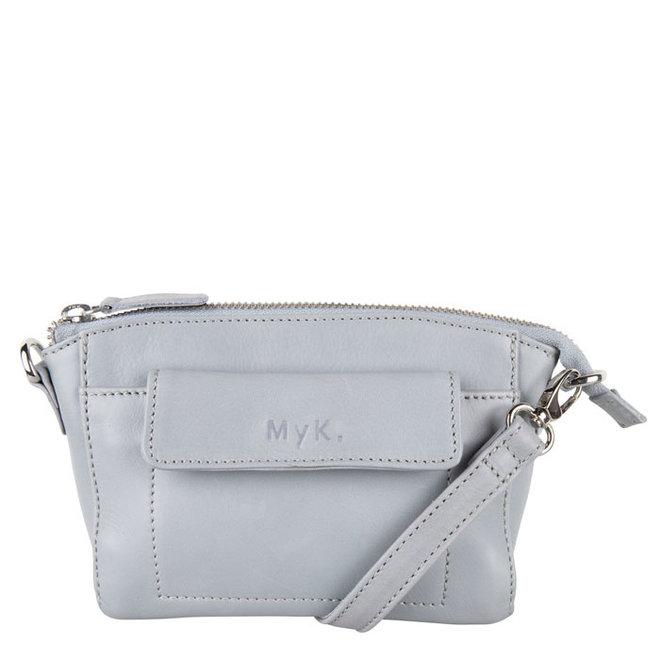 Tasche Carlton - Silber Grau