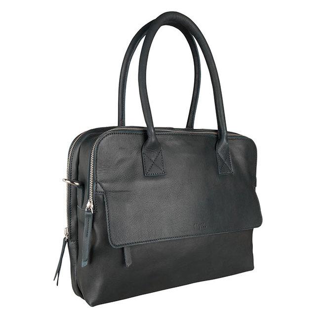 Bag Focus - Emerald green  - 13 inch Laptop Tas