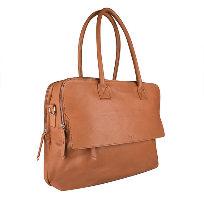 Bag Focus - Caramel  - 15 inch Laptop Tas