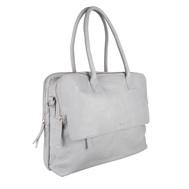 Bag Focus - Silver Grey  - 15 inch Laptop Tas