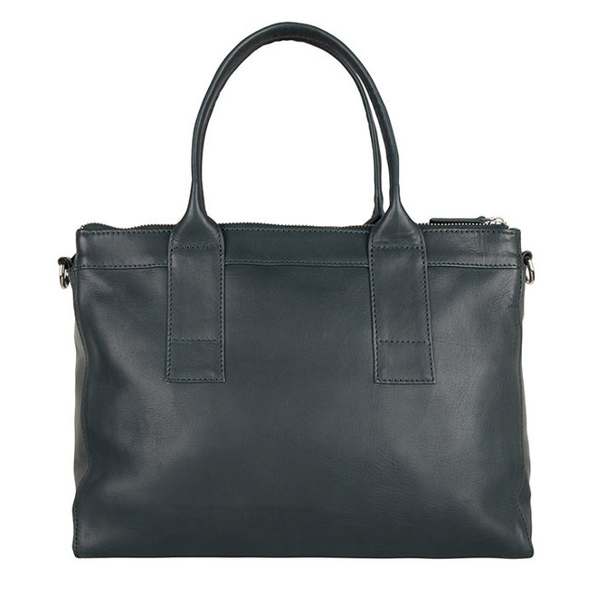 SOLD OUT Bag Orchid - Emerald green