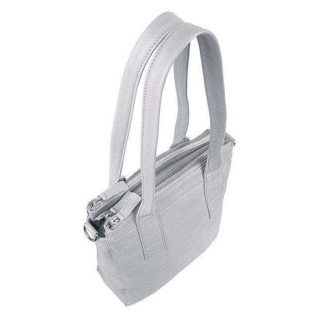 Tasche Lotus - Silber Grau