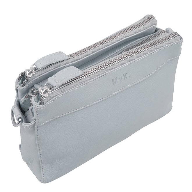 Tasche Rose - Silber Grau
