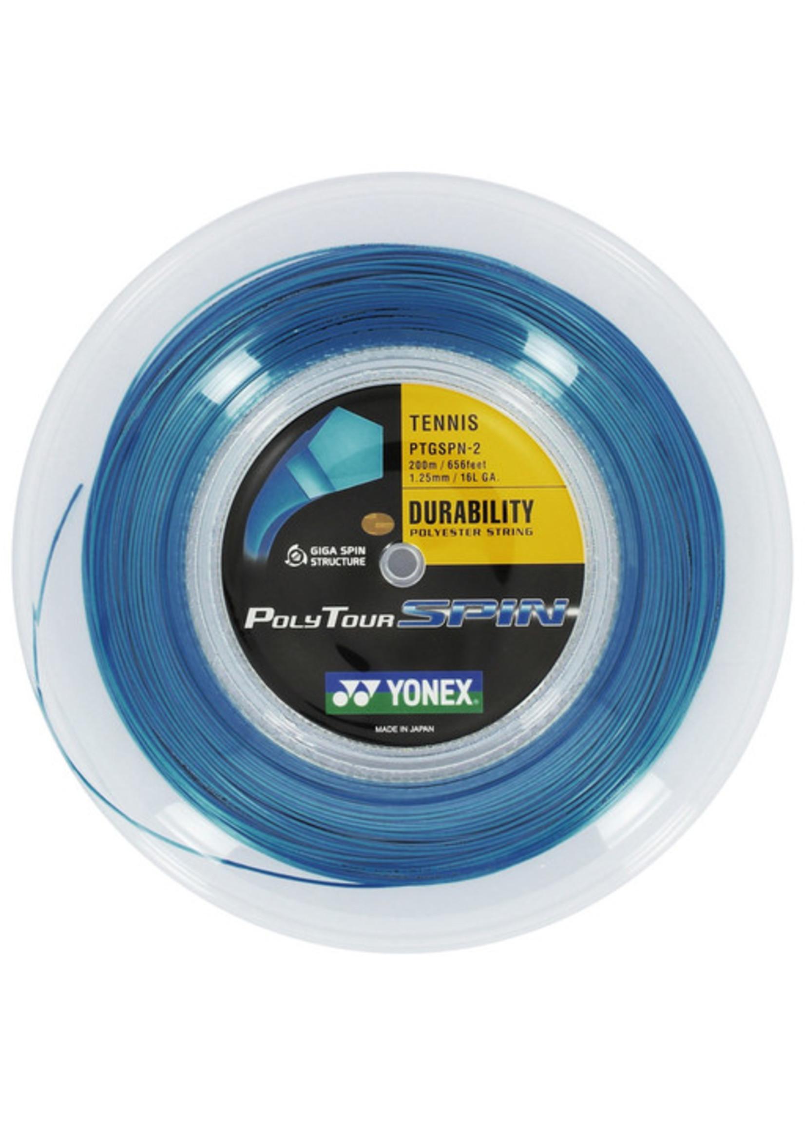 Yonex Yonex PolyTour Spin Tennis String- 200m Reel