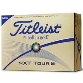 Titleist Titleist NXT Tour S Golf Balls (2016)