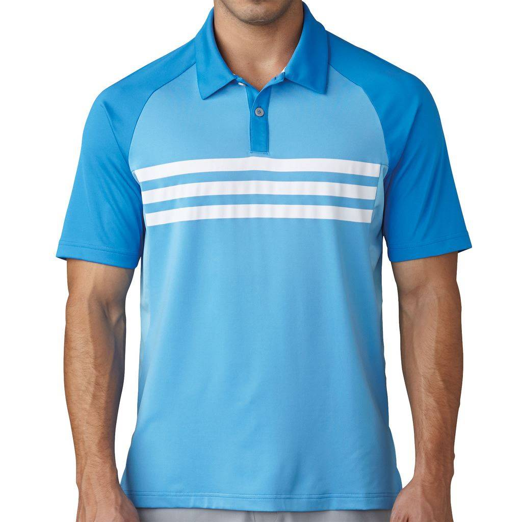 ebcded679e Adidas Gents Climacool 3 Stripe Polo Shirt - Gannon Sports