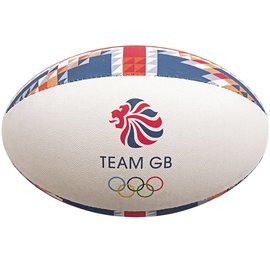 Gilbert Gilbert Team GB Supporter Rugby Ball, Midi
