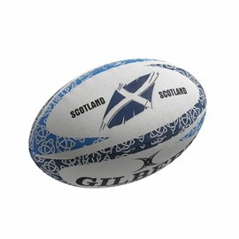 Gilbert Gilbert Mini Anthem Flower of Scotland Rugby Ball