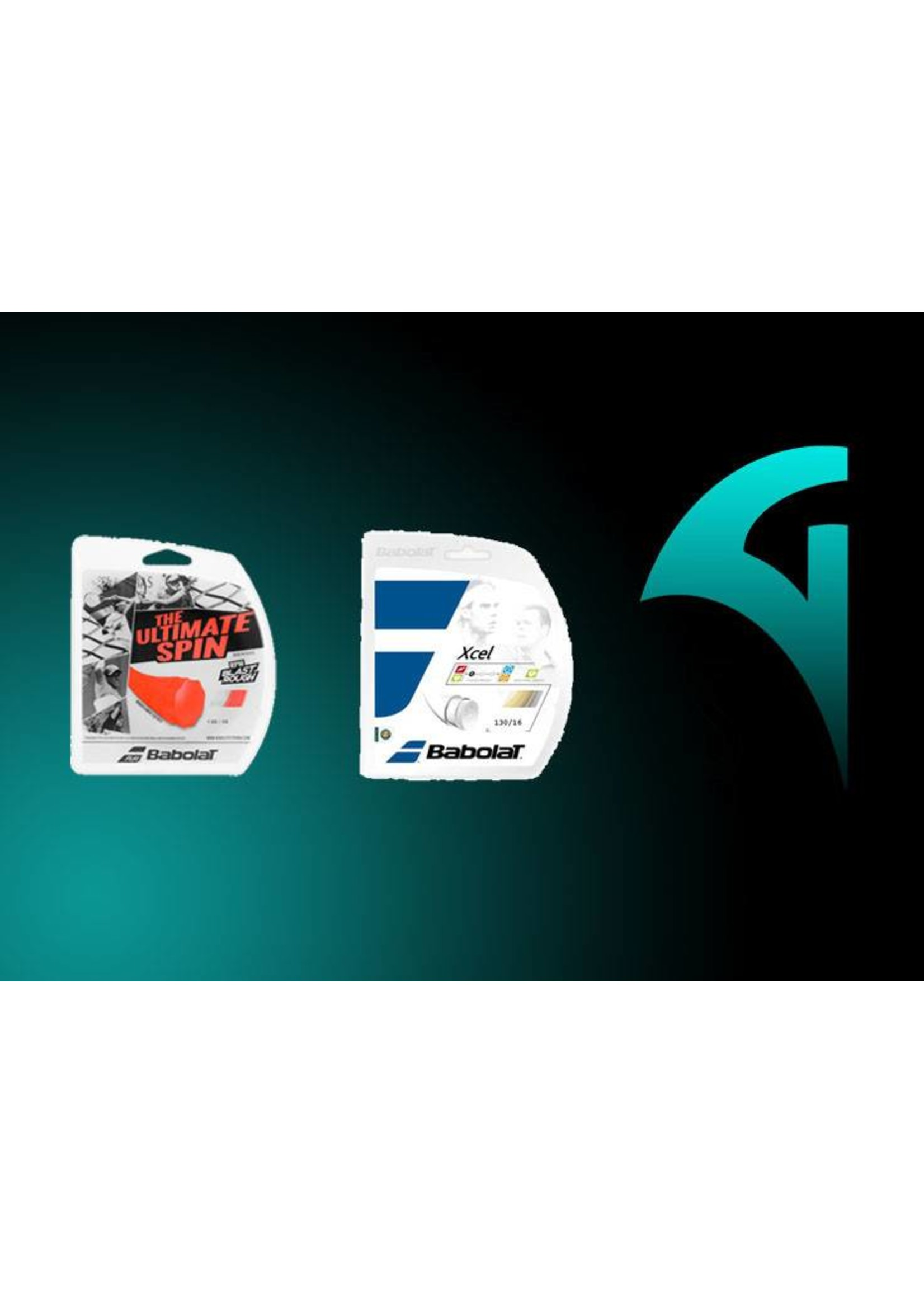 Babolat RPM Rough/Xcel Restring