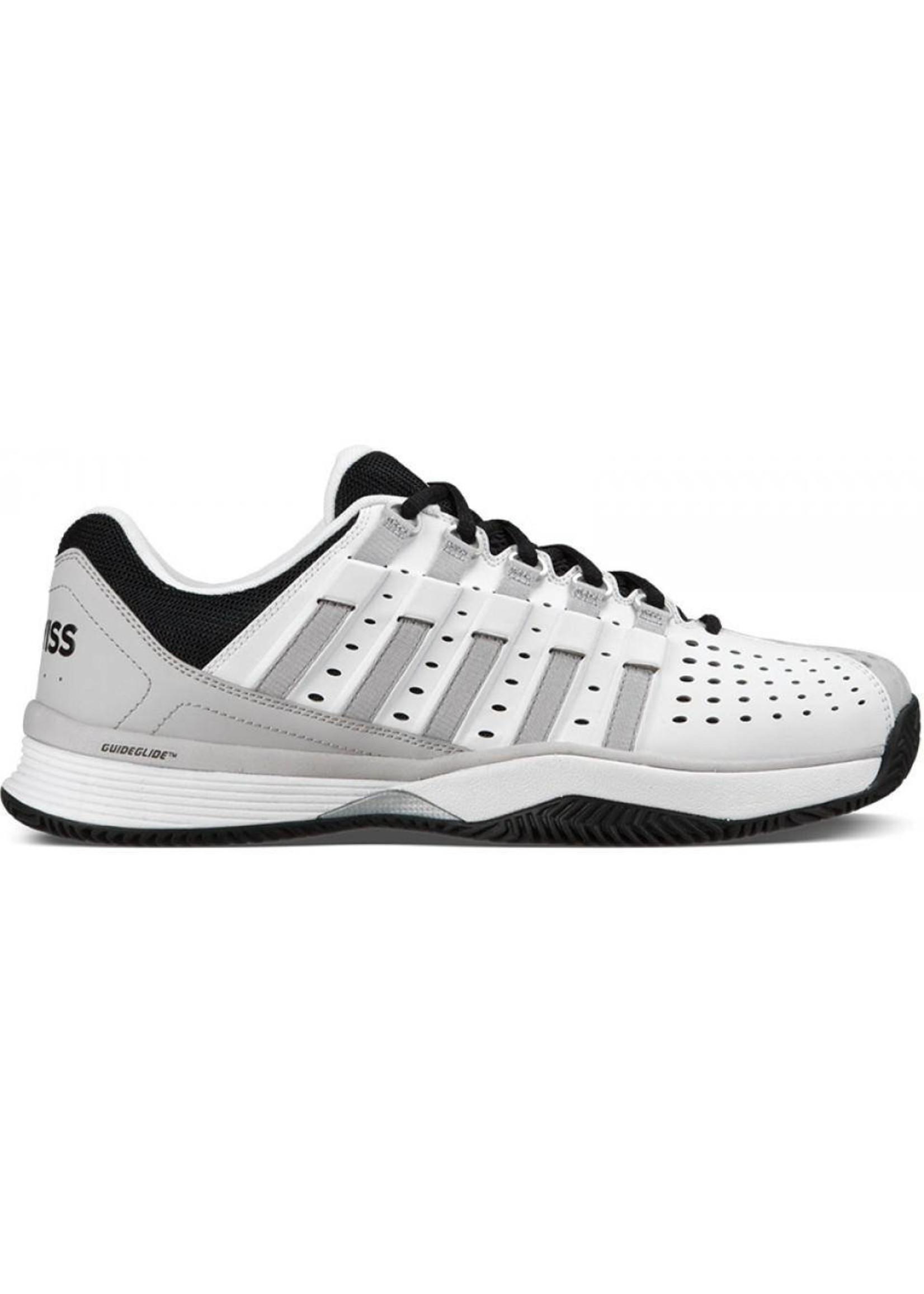 K Swiss KSwiss Mens Hypermatch Tennis Shoe (2017) - White/ Gull Grey