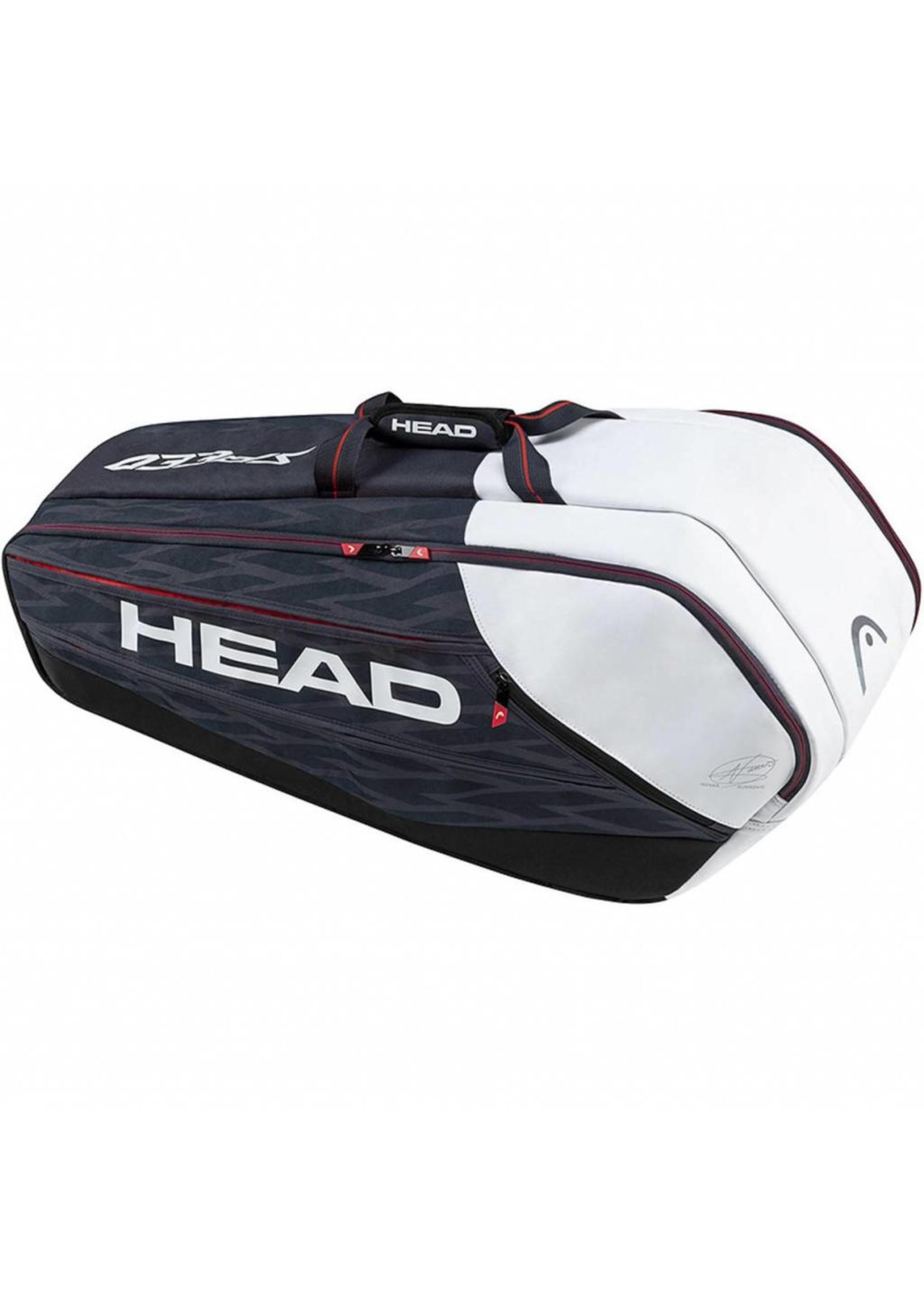 Head Head Djokovic Super Combi 9 Racket Bag