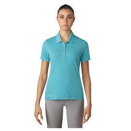 Adidas Adidas Ladies Essentials Cotton Hand Short Sleeve Polo