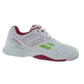 Babolat Babolat Pulsion BPM Ladies Tennis Shoe White/Pink UK 5.5