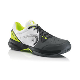 Head Head Revolt Team Gents Tennis Shoes Grey/neon Yellow UK 6