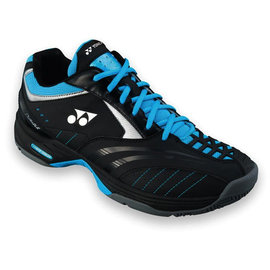 Yonex Yonex Power Cushion Durable 2 Tennis Shoe Black/Sky Blue UK 7