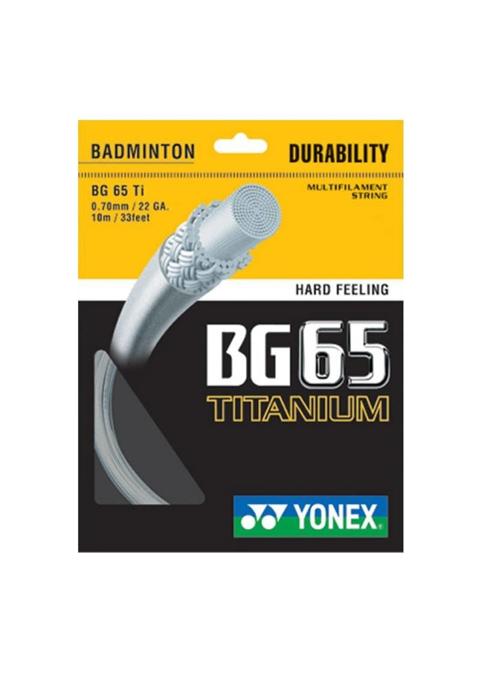 Yonex Yonex BG 65 Ti 10m Set