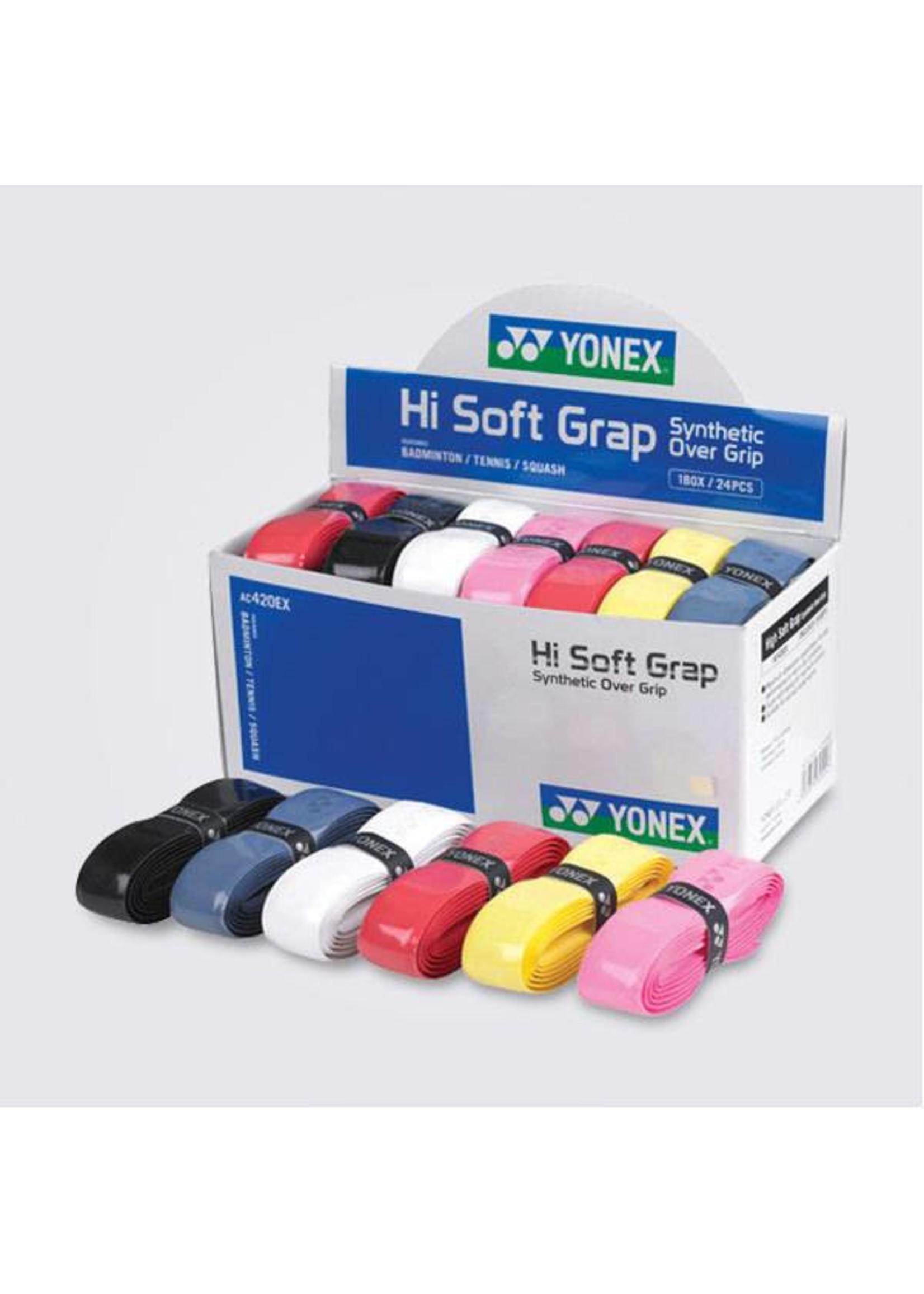 Yonex Yonex Hi Soft Grip box of 24 assorted