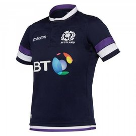 Macron Macron Junior Scotland Home Replica Shirt 17/18