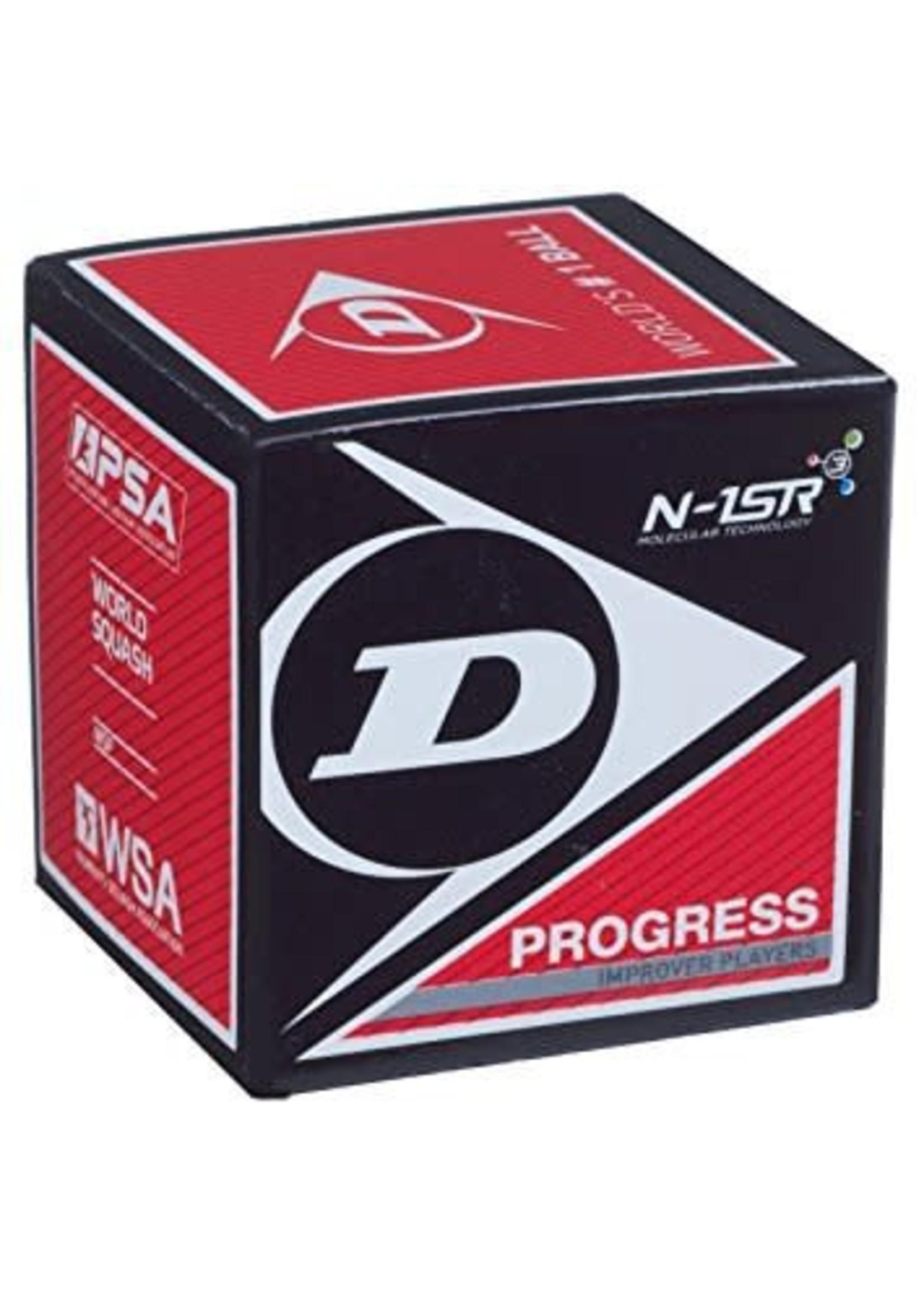 Dunlop Dunlop Progress Squash Ball (Red Dot)