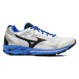 Mizuno Mizuno Wave Resolute 2 mens running shoes white/blue/black 7