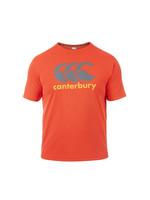 Canterbury Canterbury Mens Vapodri Poly Logo T-Shirt. Red Spark XXL