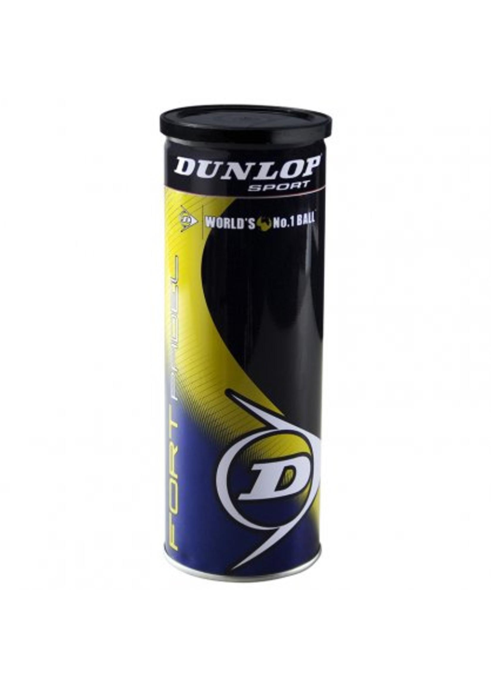 Dunlop Dunlop Fort Padel Ball, 3 Ball Tin