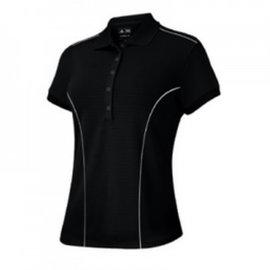 Adidas Adidas Climalite Ladies Golf Polo Z24090 Black S