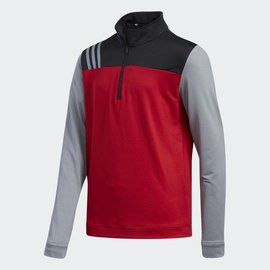 Adidas Adidas Junior Layering 3-Stripe 1/4 Zip Top (2018)