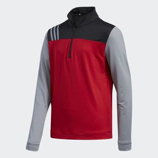 Adidas Adidas Junior Layering 3-Stripe 1/4 Zip Top (2018)