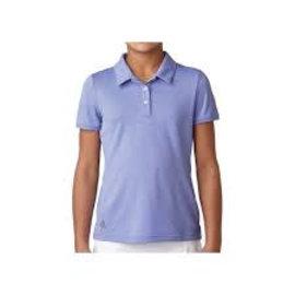Adidas Adidas Junior Tournament SS Polo Shirt, Violet (2018)