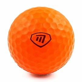 Masters Masters LiteFlite Practice Balls, Orange (Pack of 6)