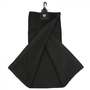 Masters Masters Tri-Fold Towel, Black