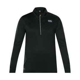 Canterbury Canterbury Ladies Vapodri Poly 1/4 Zip, Jet Black (2018)