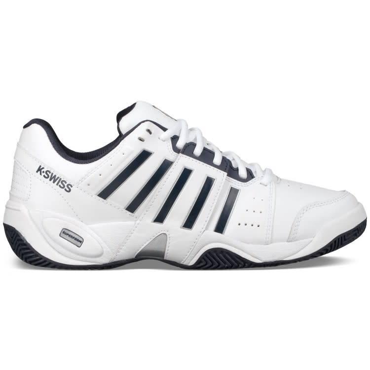 brand new 60fe3 48534 K Swiss Accomplish 3 Omni Mens Tennis Shoe - White (2018)
