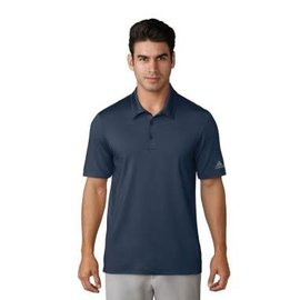 Adidas Adidas Mens Ultimate 365 Solid Polo Shirts, Collegiate Navy (2018)