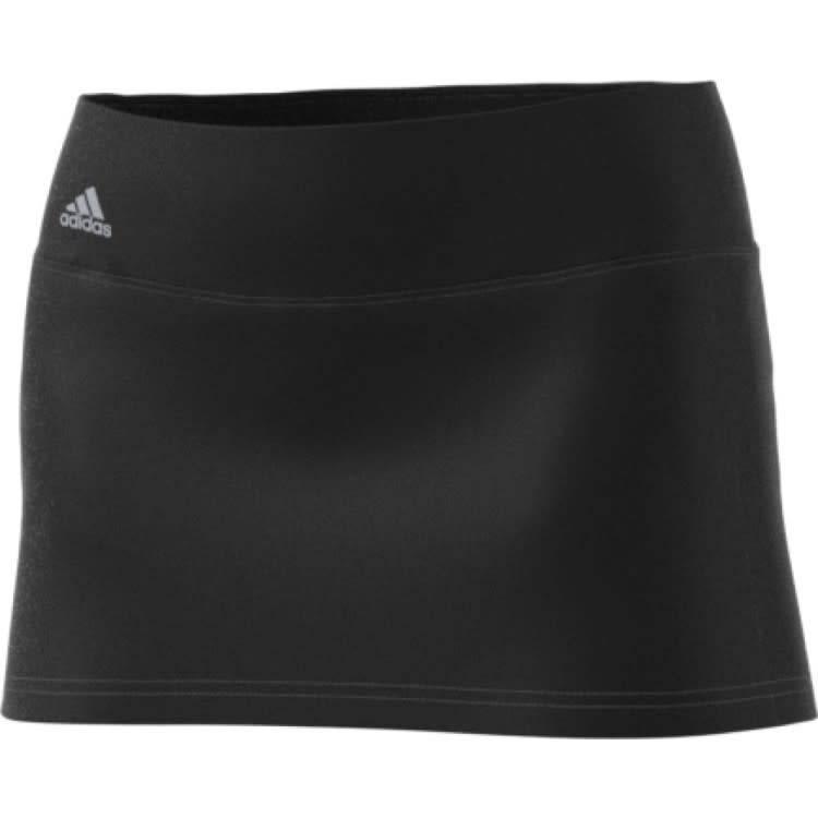 21b71435184a2 Adidas Ladies Advantage Skort Black (2018) - Gannon Sports